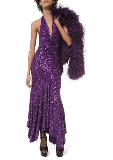 Michael Kors Collection Stretch Matte Jersey Sequin