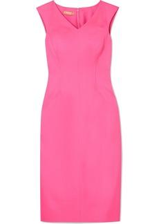 Michael Kors Stretch-silk Crepe Midi Dress