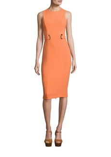 Michael Kors Collection Stretch Wool Dress