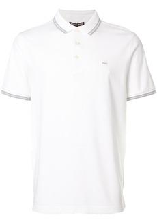Michael Kors stripe detail polo shirt