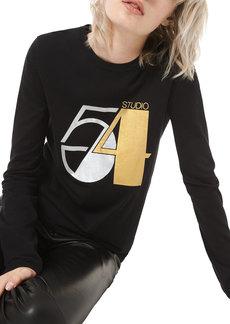 Michael Kors Collection Studio 54 Long-Sleeve Tee