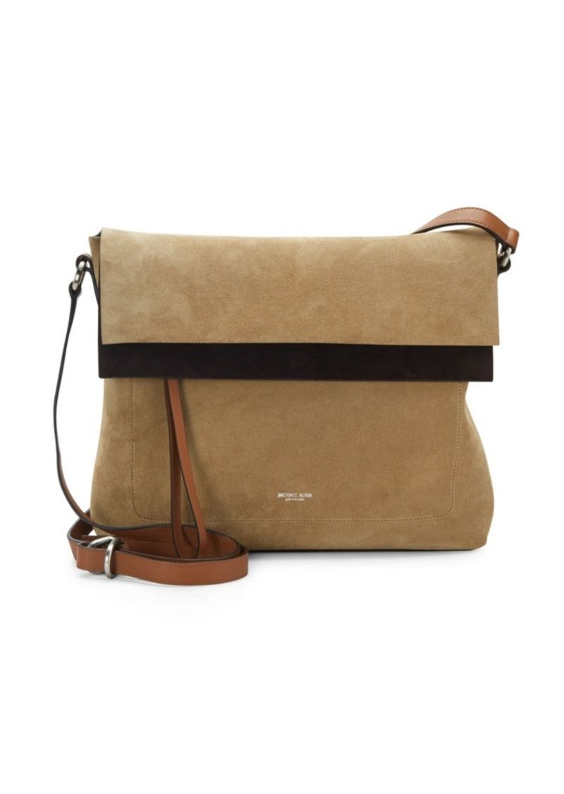Michael Kors Collection Suede Crossbody