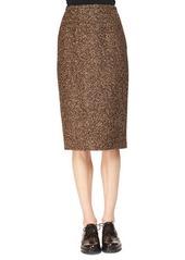 Michael Kors Tweed Slim Pencil Skirt
