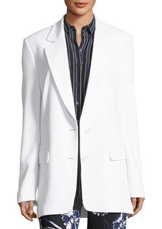 Michael Kors Two-Button Boyfriend Blazer