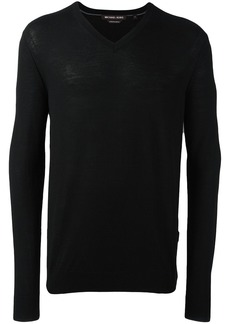 Michael Kors Collection V-neck pullover - Black