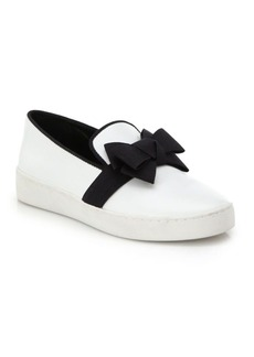Michael Kors Val Bow Patent Leather Sneakers