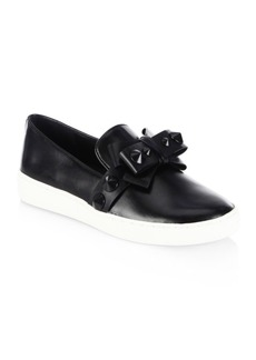 Michael Kors Val Leather Sneakers