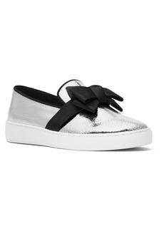 Michael Kors Val Metallic Leather Skate Sneakers