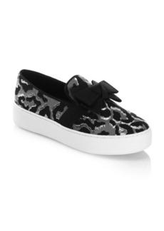 Michael Kors Val Velvet Sneakers