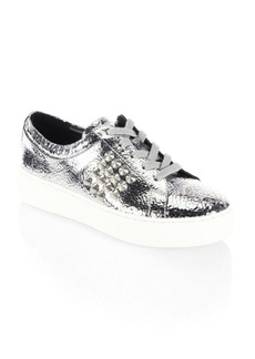 Michael Kors Valin Leather Sneakers