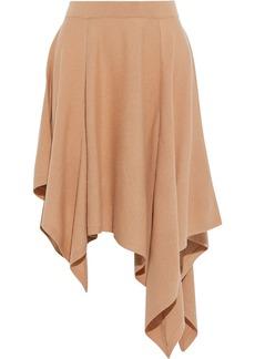 Michael Kors Collection Woman Asymmetric Cashmere Skirt Sand