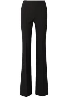 Michael Kors Collection Woman Crepe Flared Pants Black
