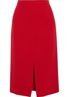 Michael Kors Collection Woman Crepe Pencil Skirt Red