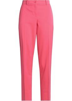 Michael Kors Collection Woman Samantha Stretch-wool Twill Straight-leg Pants Bubblegum