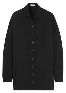 Michael Kors Collection Woman Silk Shirt Black