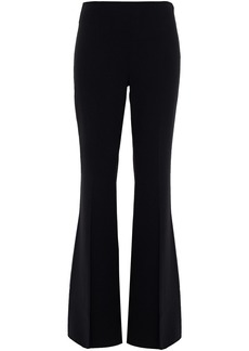 Michael Kors Collection Woman Stretch-wool Crepe Flared Pants Black