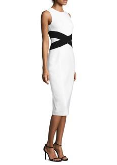 Criss-Cross Midi Dress
