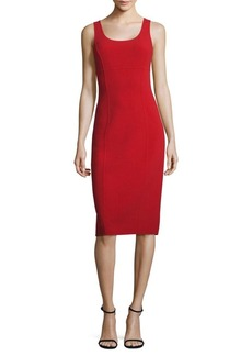 Michael Kors Collection Wool Sheath Dress