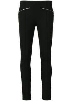 MICHAEL Michael Kors zip-detailed skinny trousers