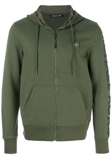 Michael Kors Collection zipped hoodie - Green