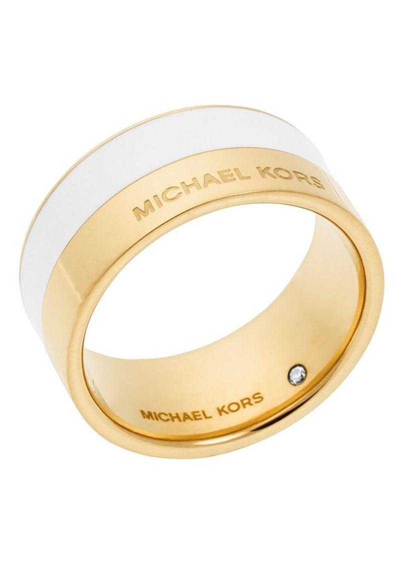 Michael Kors Color Block Ring