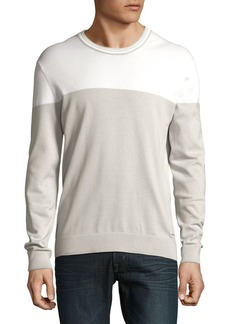 Michael Kors Colorblock Cotton Sweater