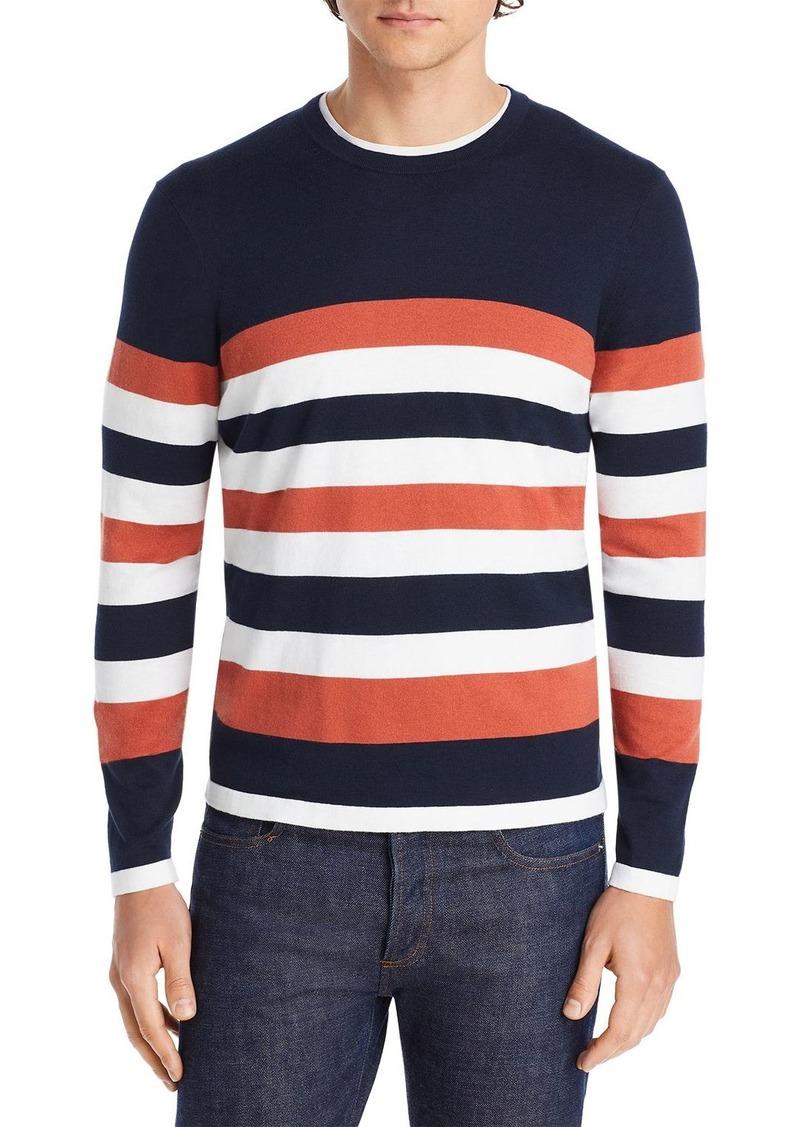 Michael Kors Colorblocked Striped Sweater