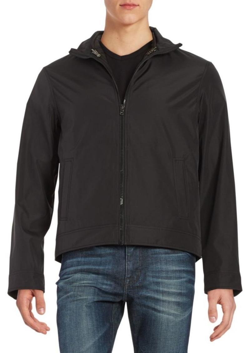 Michael Kors Convertible Zip-Front Jacket