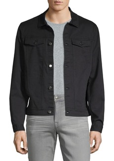 Michael Kors Cotton-Blend Trucker Jacket