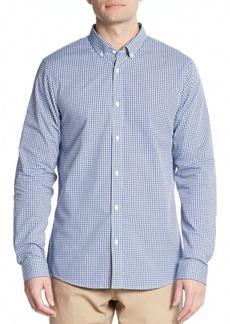 Michael Kors Cotton Gingham Sport Shirt