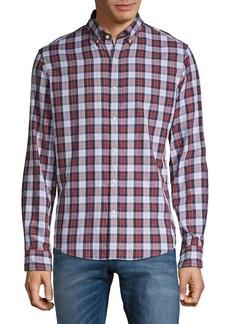 Michael Kors Cotton Plaid Shirt