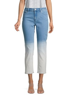 MICHAEL Michael Kors Cropped Ombre Jeans