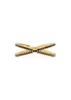 Michael Kors Custom Kors 14K Gold-Plated Sterling Silver Pav� Nesting Ring Insert