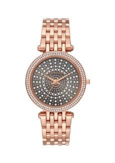 Michael Kors Darci Pavé Stainless Steel Bracelet Watch