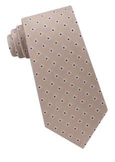 Michael Kors Diamond Dot Neat Silk Tie