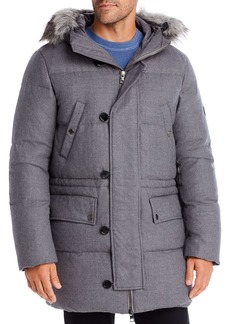 Michael Kors Elevated Wool & Down Parka