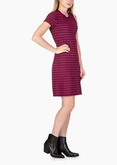 Michael Kors Embell Flare Midi Dress