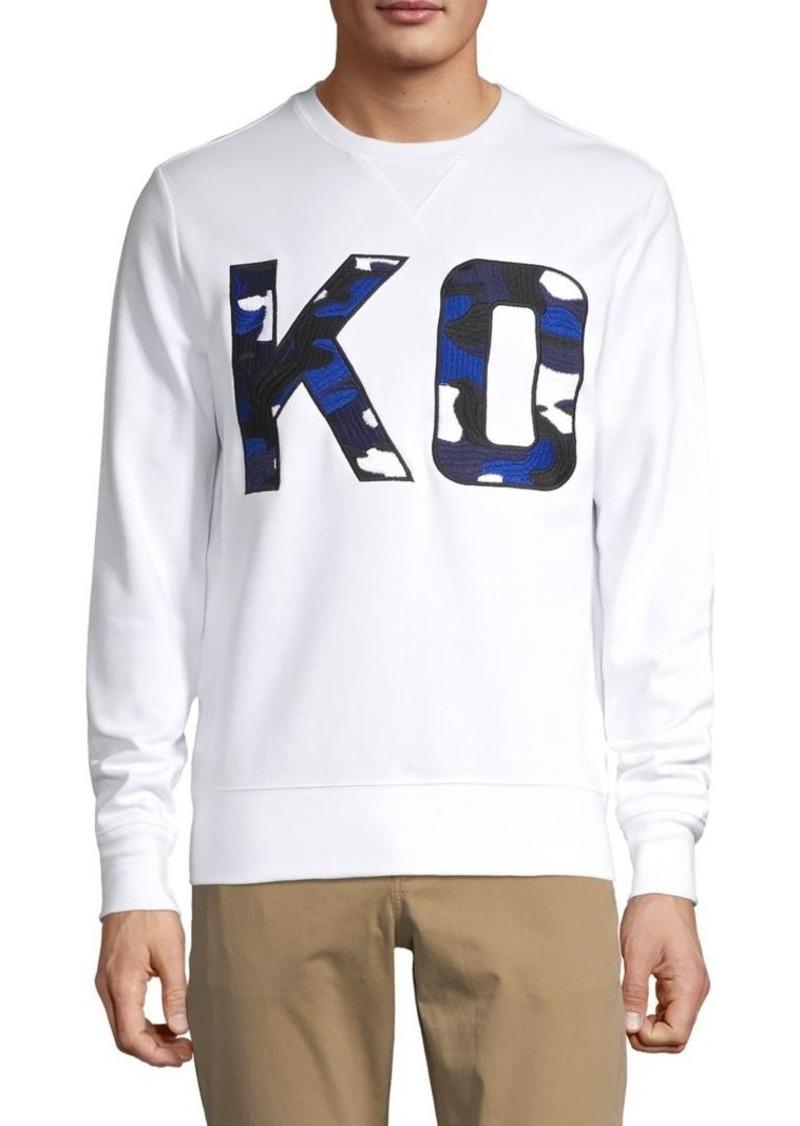 Michael Kors Embroidered Crewneck Sweatshirt