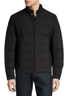 Michael Kors Full-Zip Down Puffer Jacket