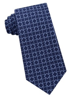 Michael Kors Finely Outlined Geo Tie