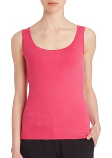 Michael Kors Fitted Cashmere Tank
