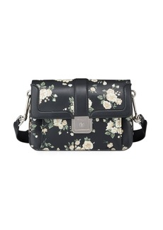 Michael Kors French Floral-Printed Crossbody Bag