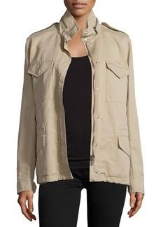 Michael Kors Fur-Lined Safari Jacket