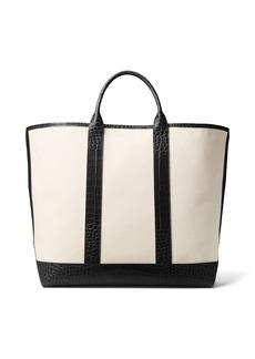 Michael Kors Georgica Canvas Tote Bag