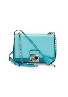 Michael Kors Gia Small Leather Shoulder Bag