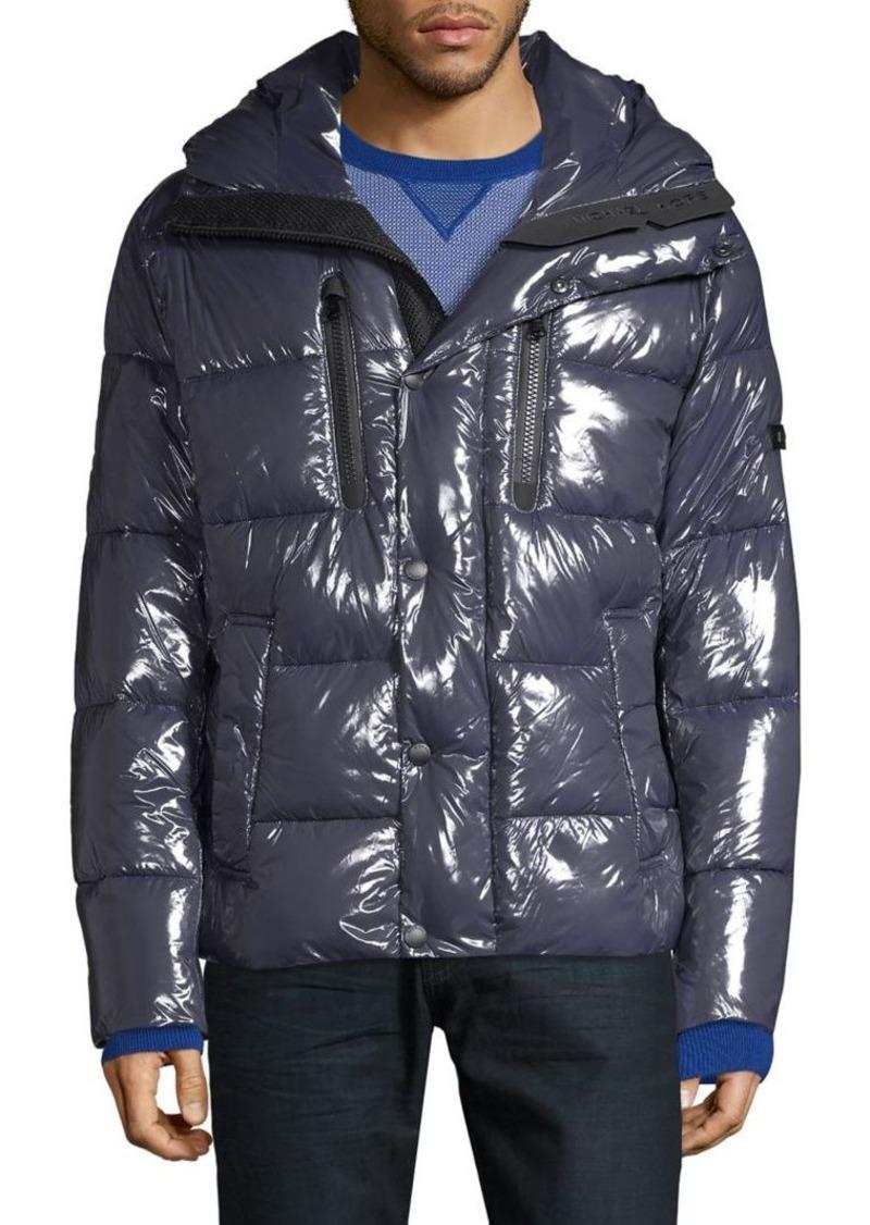 Michael Kors Glossy Puffer Jacket