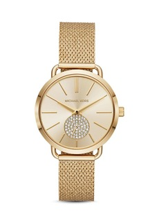Michael Kors Portia Mesh Bracelet Watch, 37mm