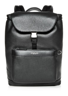 Michael Kors Greyson Pebbled Leather Field Backpack