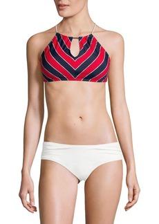 MICHAEL MICHAEL KORS Halterneck Bikini Top