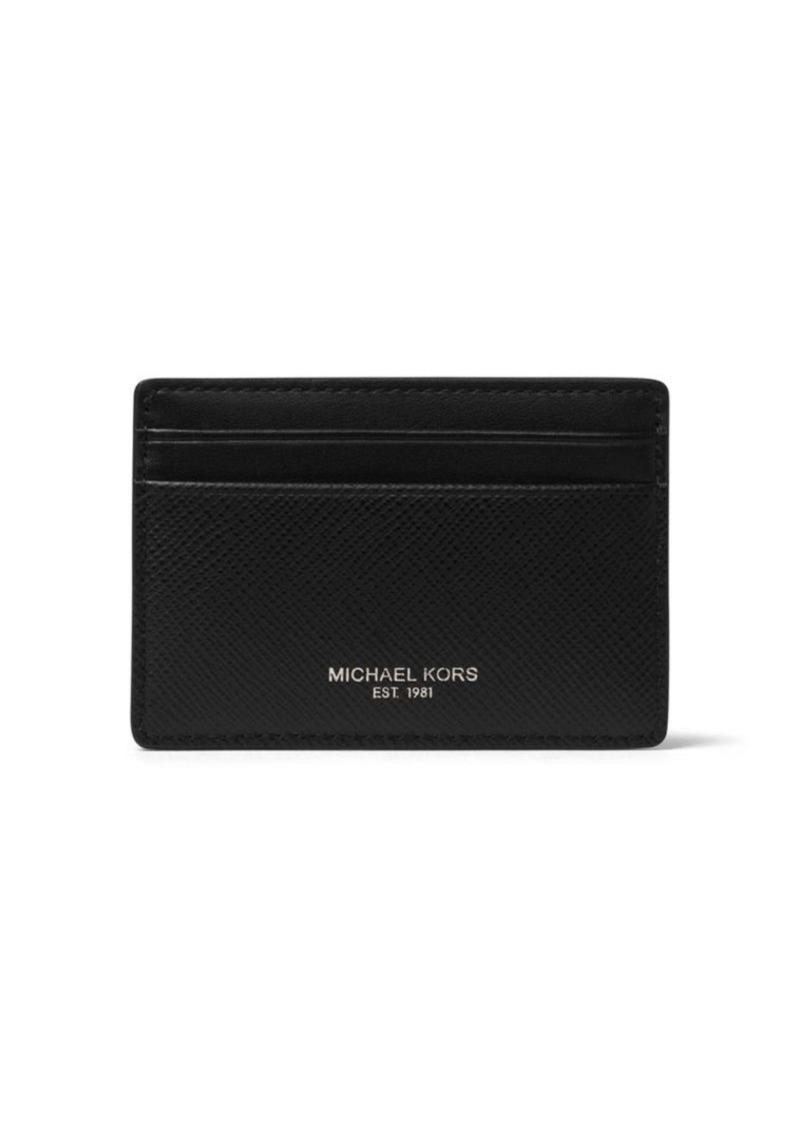 sale retailer 71632 c6c27 Harrison Leather Card Case and Money Clip